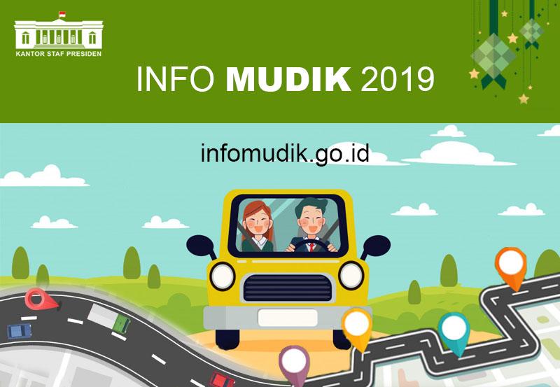 Berita dan informasi seputar perjalanan mudik Anda dapat diakses melalui infomudik.go.id