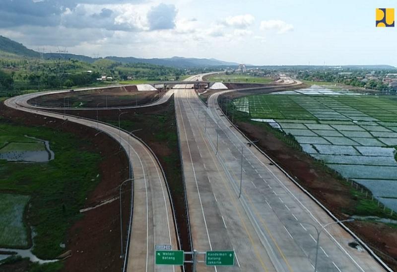 Dalam Empat Tahun Kementerian PUPR Rampungkan 616 Km Tol Trans Jawa