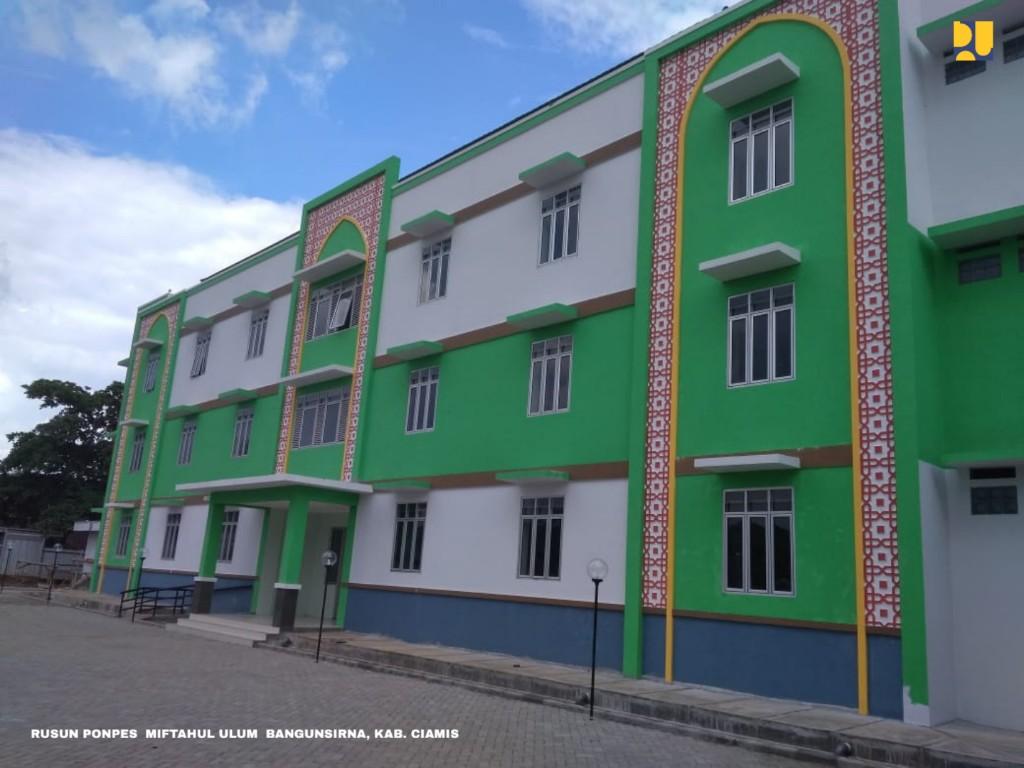 Kementerian PUPR Bangun 27 Rusun Ponpes di Jawa Barat Tahun 2018