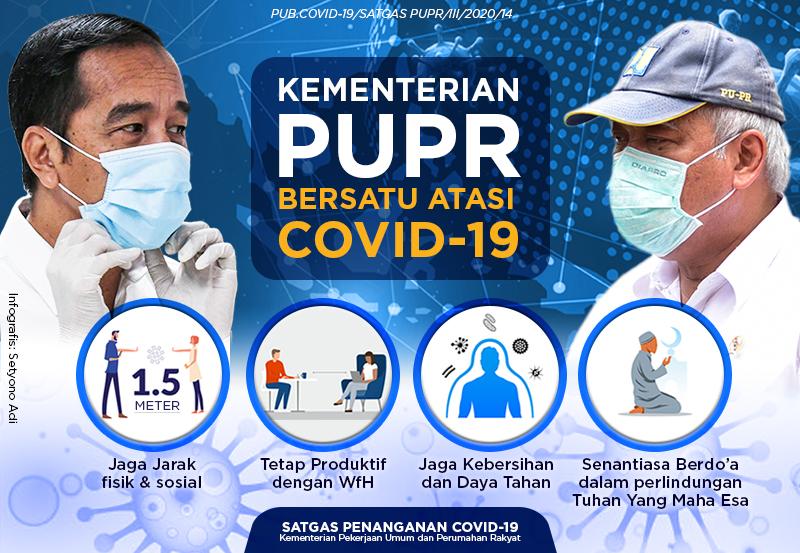 Kementerian PUPR Bersatu Atasi Covid-19