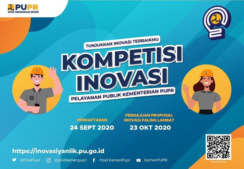 Kompetisi Inovasi Pelayanan Publik Kementerian PUPR Tahun 2020