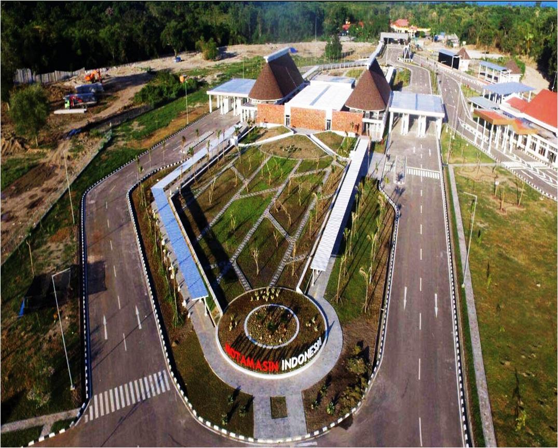 Pos Lintas Batas Negara (PLBN) Motamasin - Nusa Tenggara Timur
