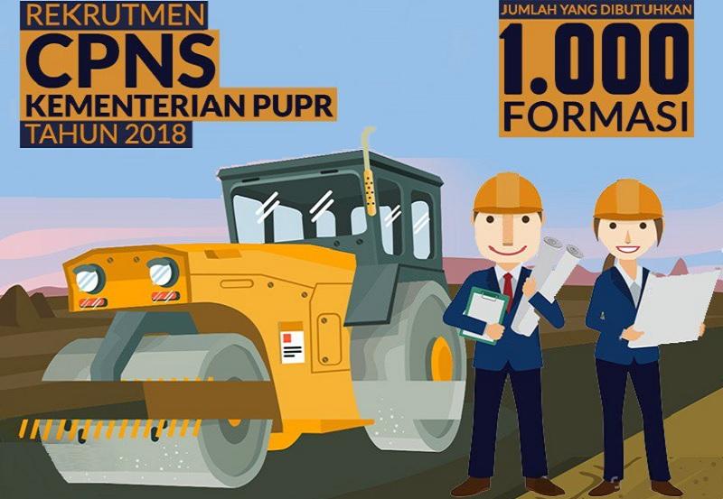 Rekrutmen CPNS Kementerian PUPR Tahun 2018