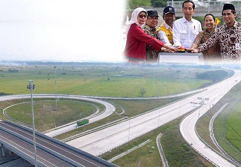 Ruas Sragen - Ngawi 51 Km Diresmikan, Tol Merak - Surabaya Sudah Tersambung 690 Km