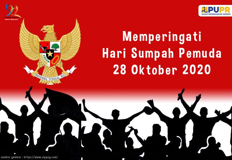 Memperingati Hari Sumpah Pemuda 28 Oktober 2020