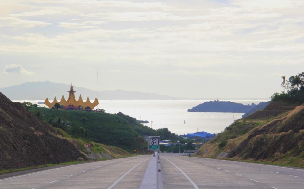 Jalan Tol Bakauheni - Terbanggi Besar Seksi 1 - Lampung