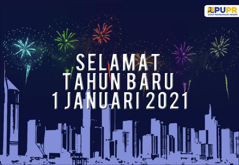 Selamat Tahun Baru Januari 2021