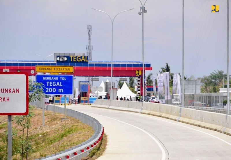 Tol Brebes Timur - Pemalang 42,7 Km Diresmikan, Tol Trans Jawa Semakin Terhubung