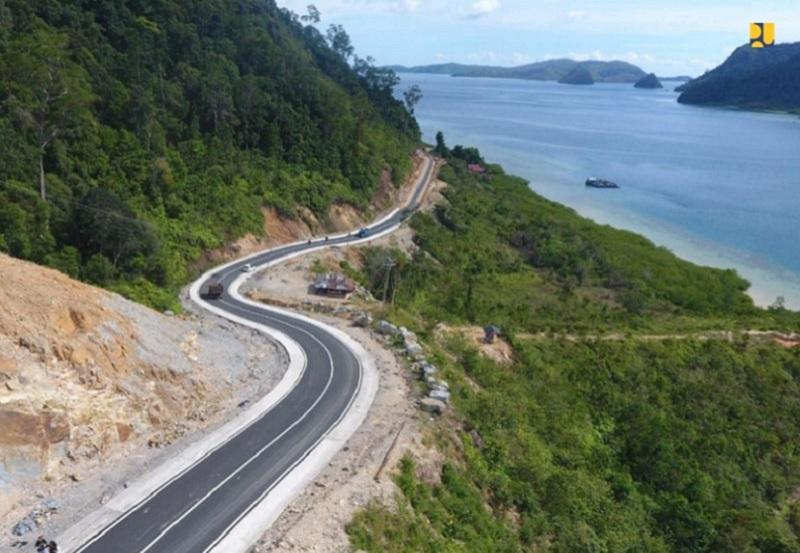 Kementerian PUPR Rampungkan 41,08 Km Jalan Akses Kawasan Wisata Mandeh